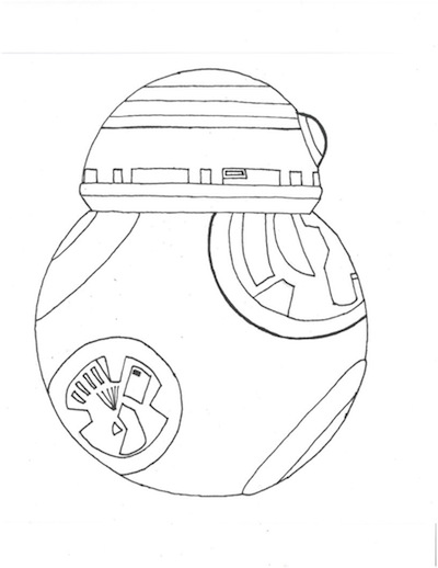 Star Wars Coloring Pages Desert Chica