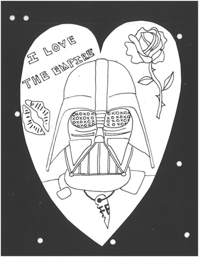 printable darth vader coloring pages - star wars coloring pages desert chica
