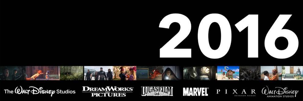 Walt Disney Studios Film Schedule 2016
