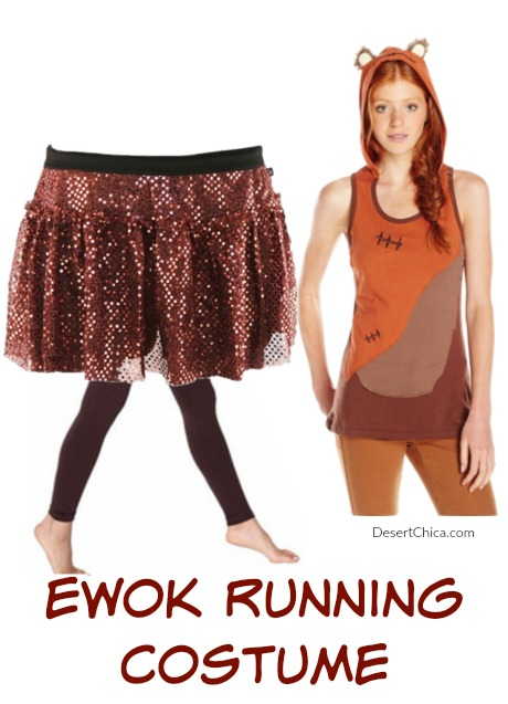 Ewok Running Costume Idea  sc 1 st  Desert Chica & Ultimate List of Star Wars Running Costume Ideas | Desert Chica