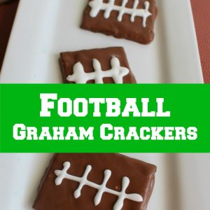 Football Graham Crackers
