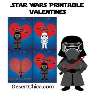 The Dark Side Star Wars Valentines