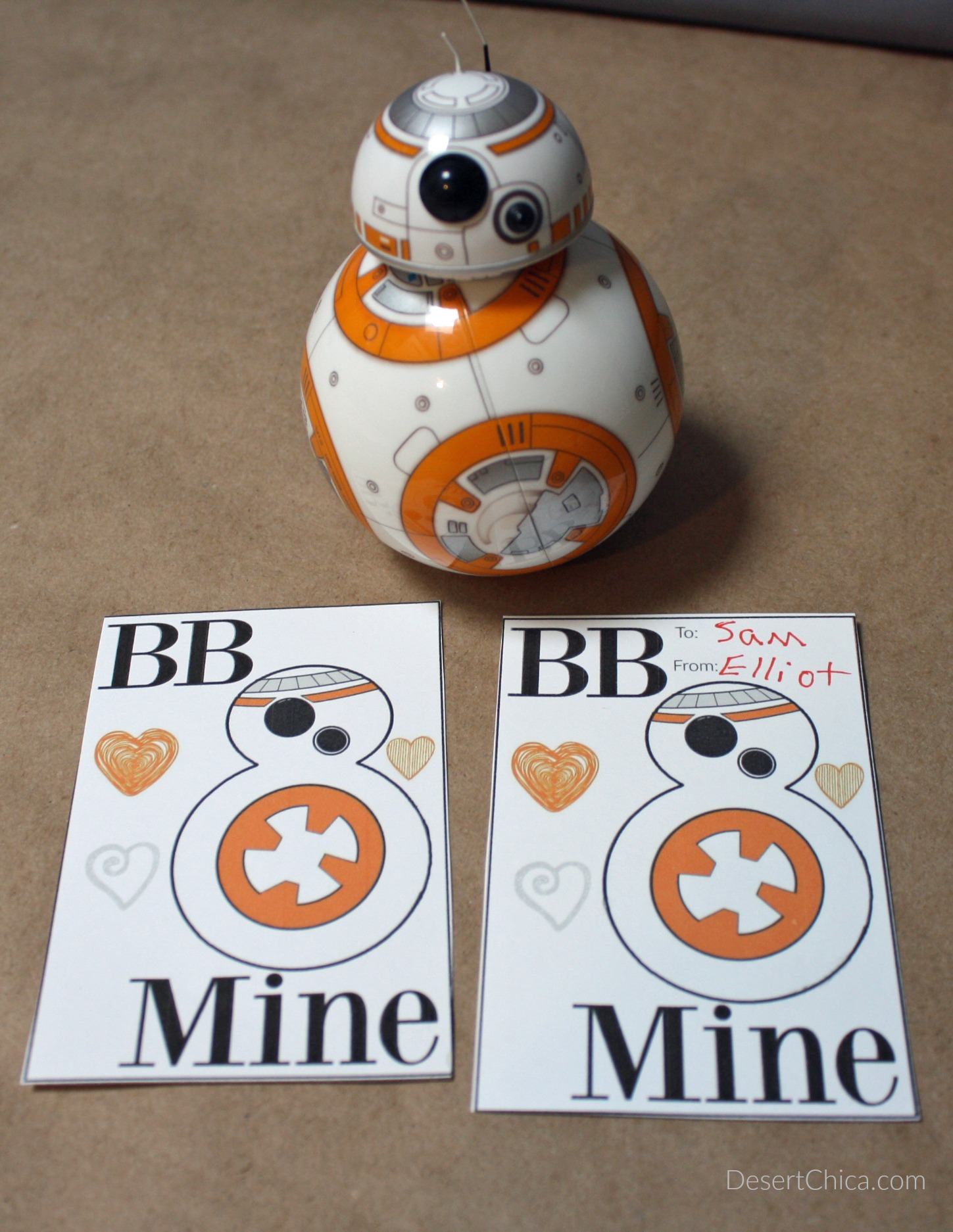 Give Star Wars BB-8 Valentines Day