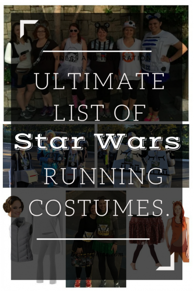 Ultimate List of Star Wars Running Costume Ideas