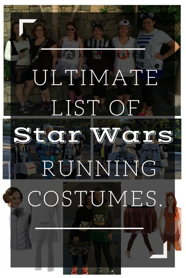 Ultimate list of Star Wars Running Costumes