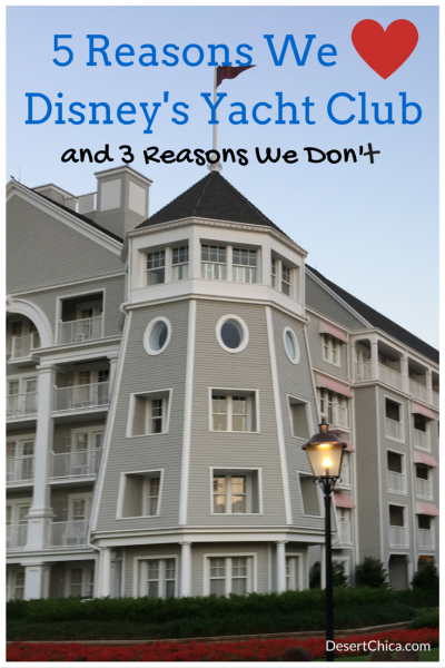 5 Reasons We Love Disney's Yacht Club Resort
