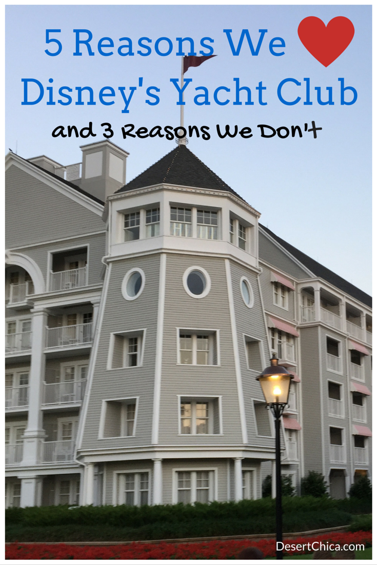 5 reasons to stay at Disney's Yacht Club Resort and 3 reasons why not