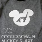 DIY Good Dinosaur Shirt