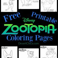 Disney Zootopia Coloring Pages
