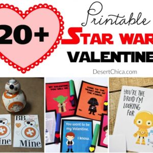 20+ Printable Star Wars Valentines