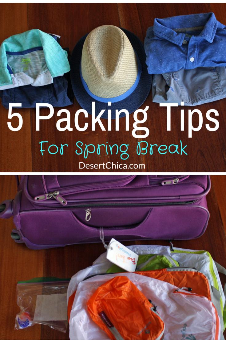 5 Packing Tips for Spring Break #BreakForSpring