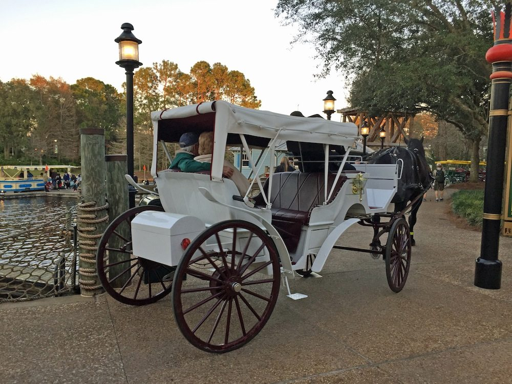 Carriage Ride at Port Orleans Riverside
