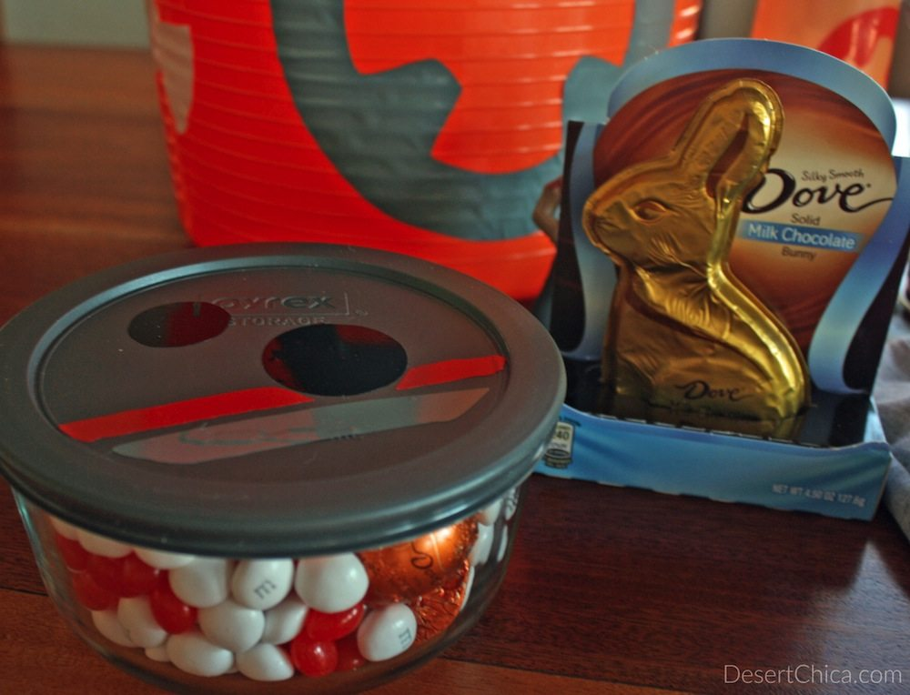 DIY BB-8 Easter Basket Details
