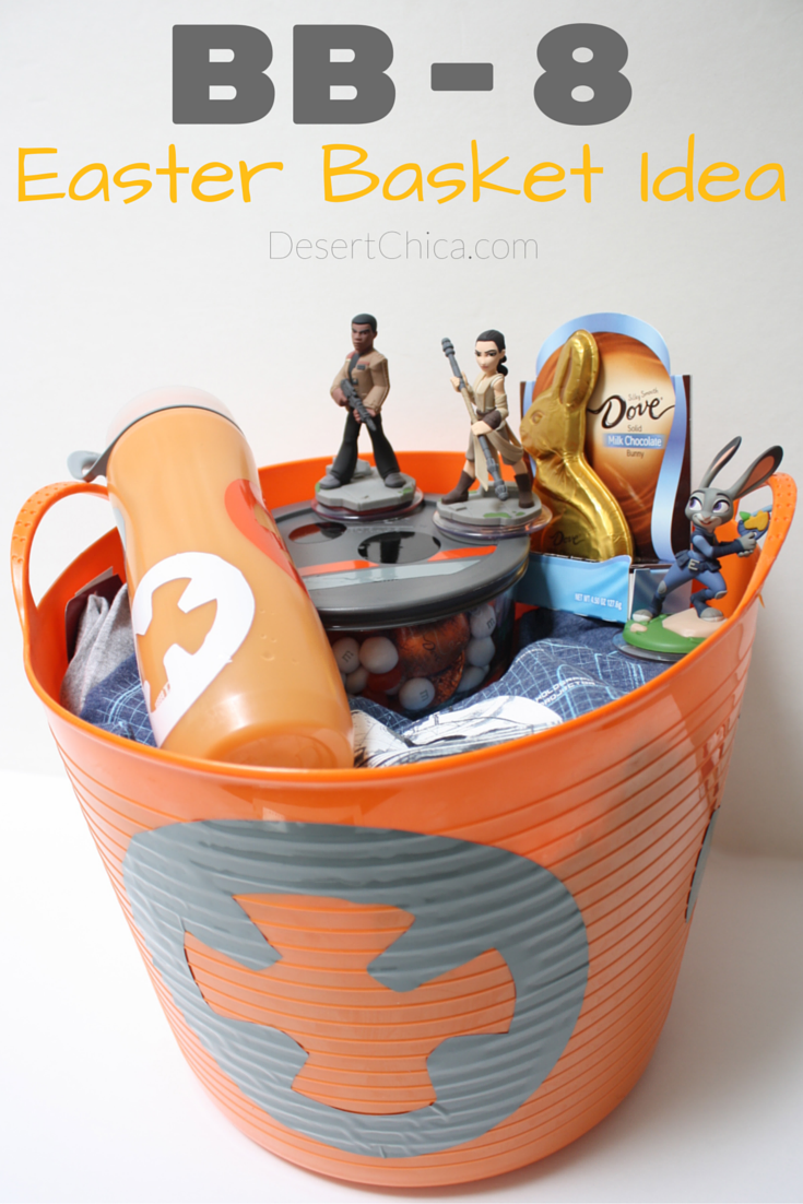 DIY BB-8 Easter Basket Ideas