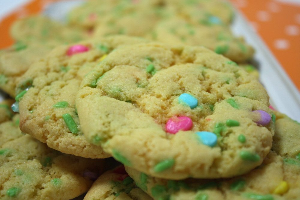 Easy Easter Cookies from Cake Mix