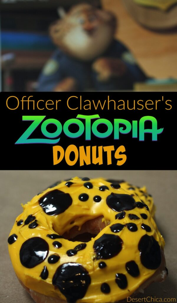 How to Make Zootopia Donuts