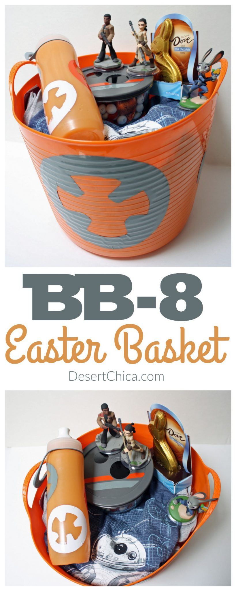 How to Make a BB-8 Easter Basket