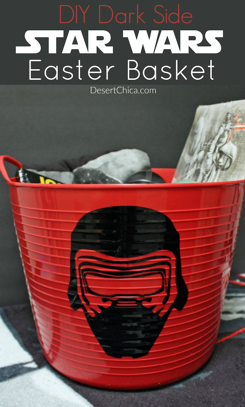 How to Make a DIY Dark Side Easter Basket