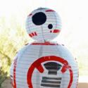 How to Make a Star Wars BB-8 Paper Lantern