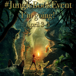 I'm headed to the Jungle Book Red Carpet Premiere! #JungleBookEvent
