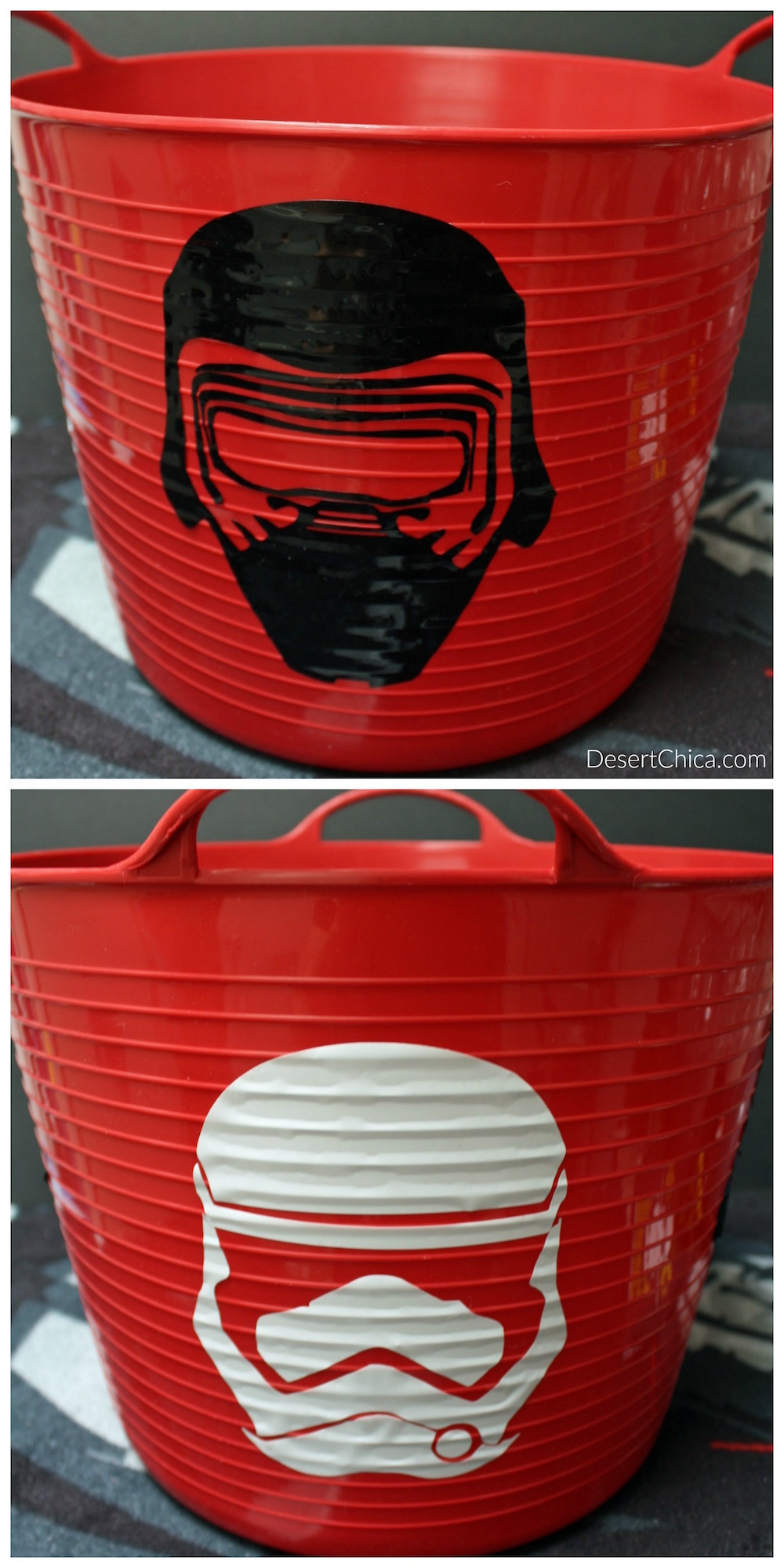 Kylo Ren First Order Storm Trooper Decal easter basket