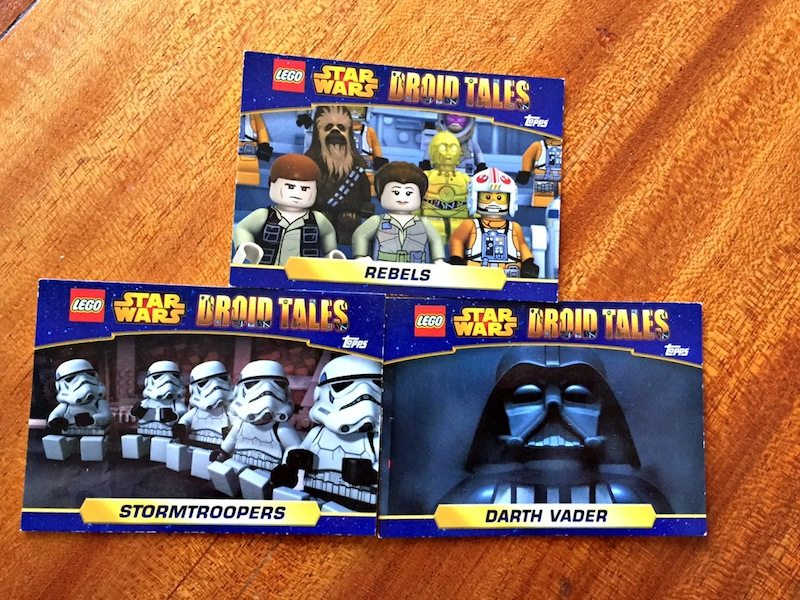 LEGO Star Wars Droid Tales Trading Cards