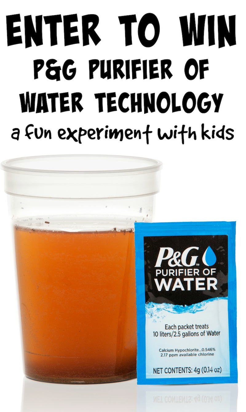 P&G Purifier of Water Technology Giveaway