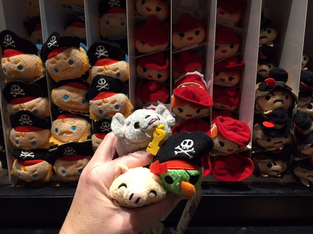 Pirates of Caribbean Tsum Tsum in Disney Parks
