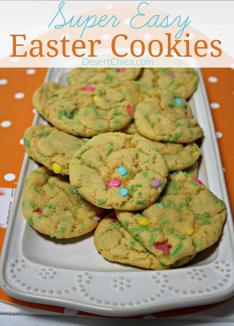 Super Easy Easter Cookies