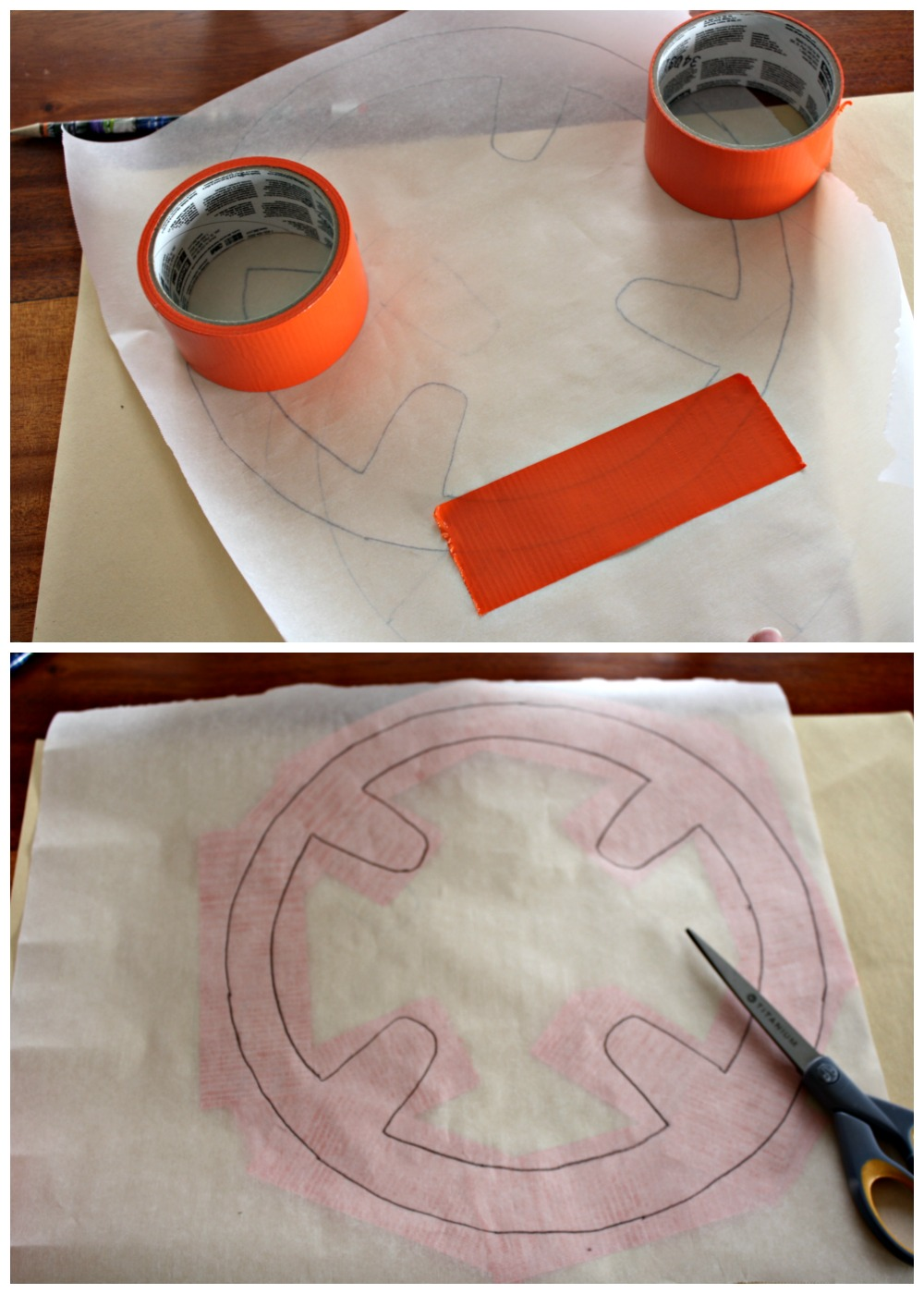 Use Duct Tape and Templates to Create a BB-8 Paper Lantern