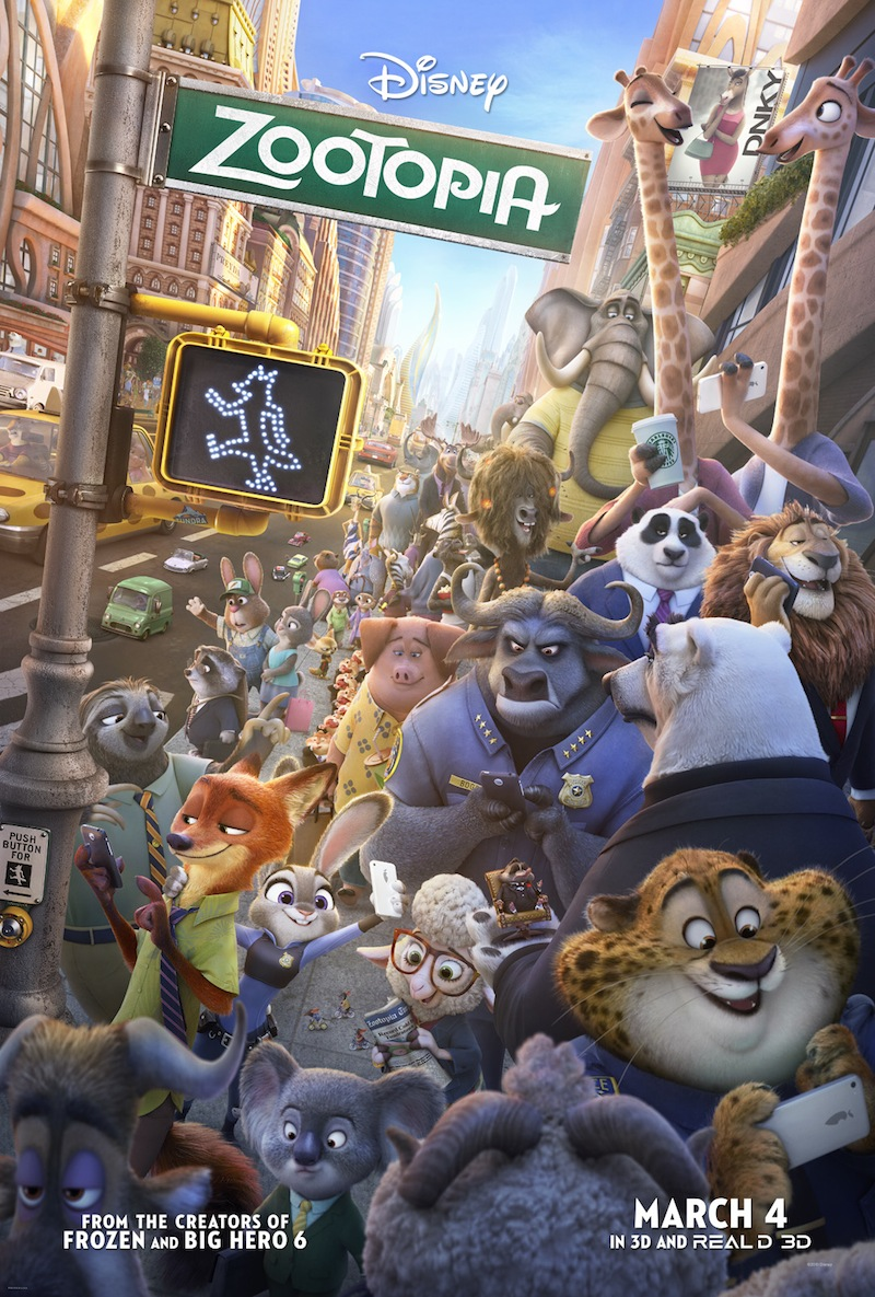 Zootopia Movie Poster 2