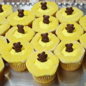 Baloo's Honeycomb Jungle Book Cupcakes