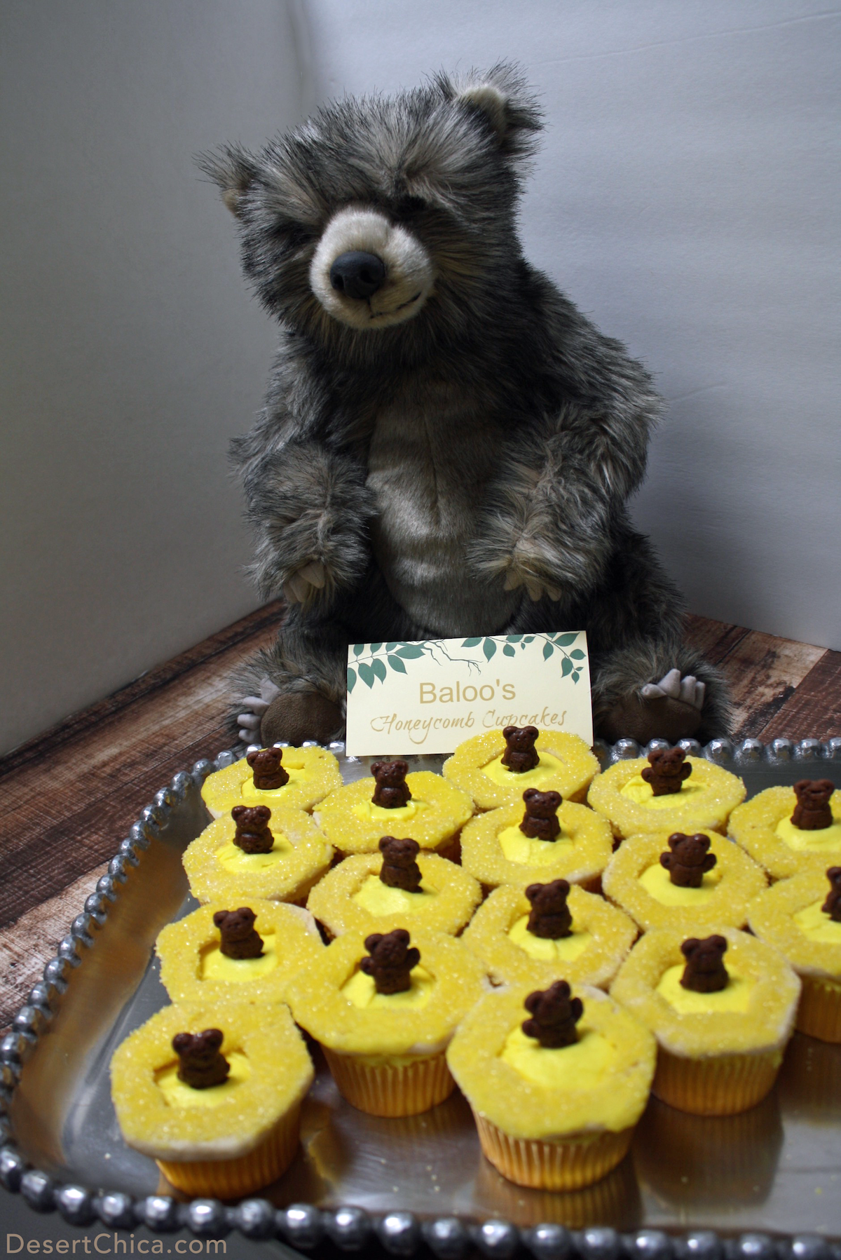 Baloo's Honeycomb cupcakes