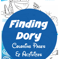Finding Dory Coloring Pages and Printable Activities