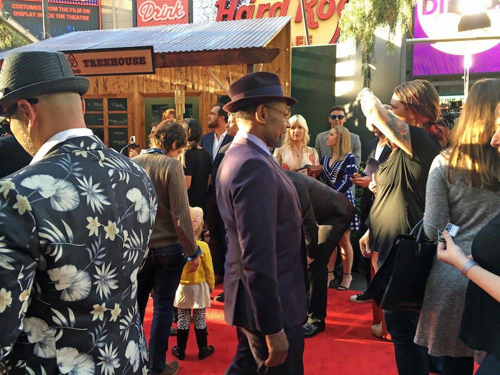 Giancarlo Esposito Jungle Book Red Carpet