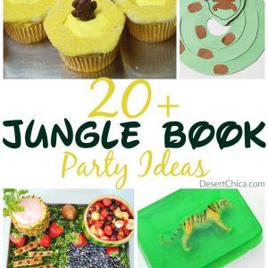 20+ Jungle Book Party Ideas