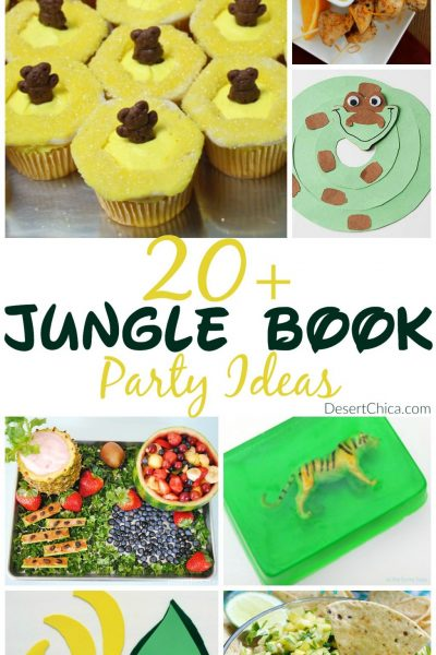 20+ Jungle Book Party Ideas