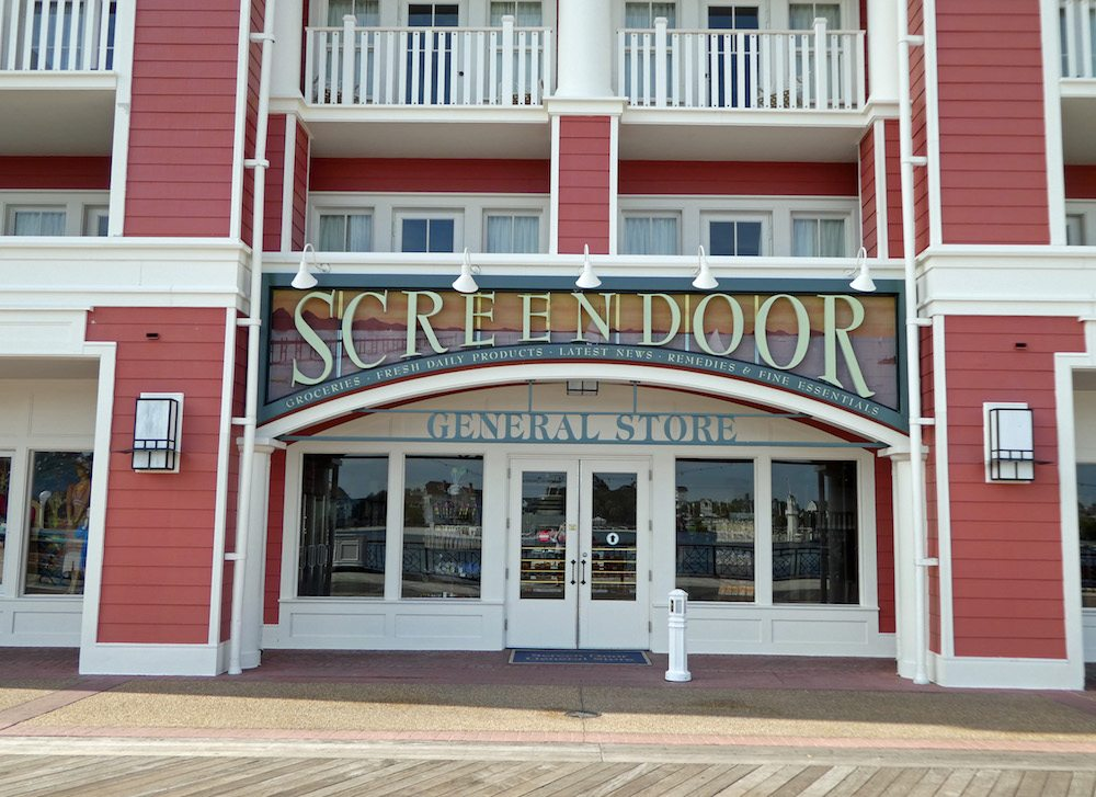 Screen Door General Store Disney's Boardwalk Villas