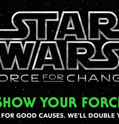 Star Wars Force For Change Charitable Campaign