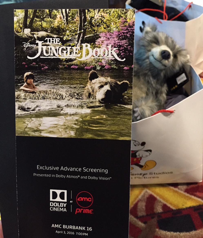 The Jungle Book Advance Screening at AMC Prime