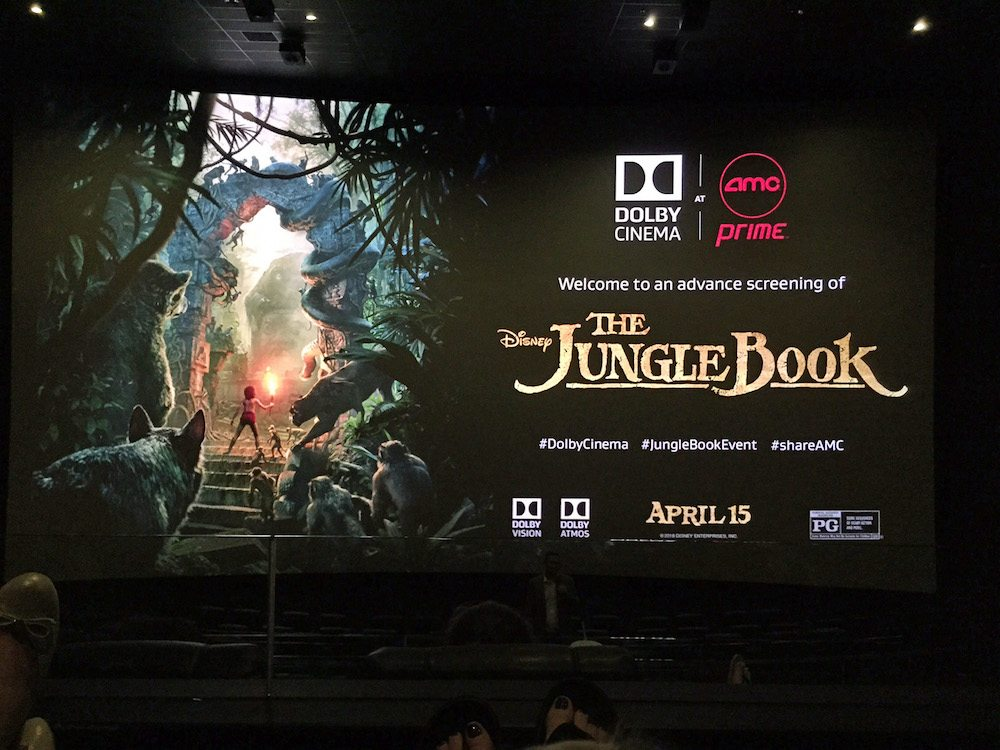The Jungle Book at Dolby Cinema at AMC Prime