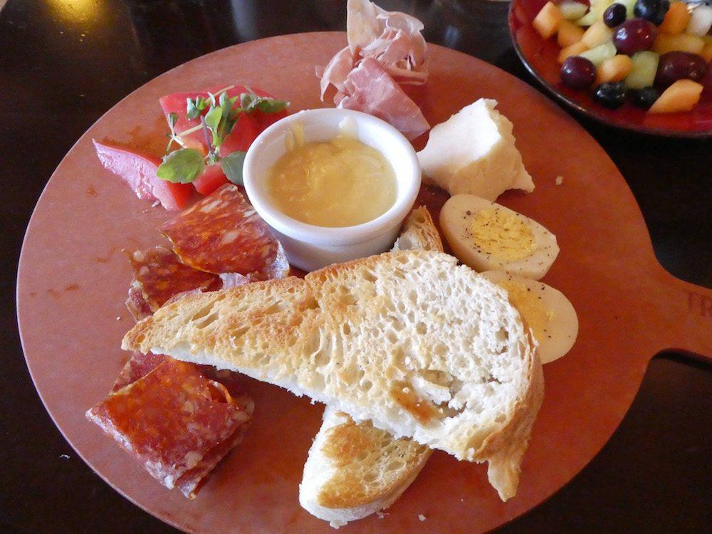Trattoria al Forno Cured Itialian Meat Plate