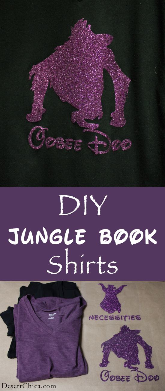 DIY Jungle Book Shirt