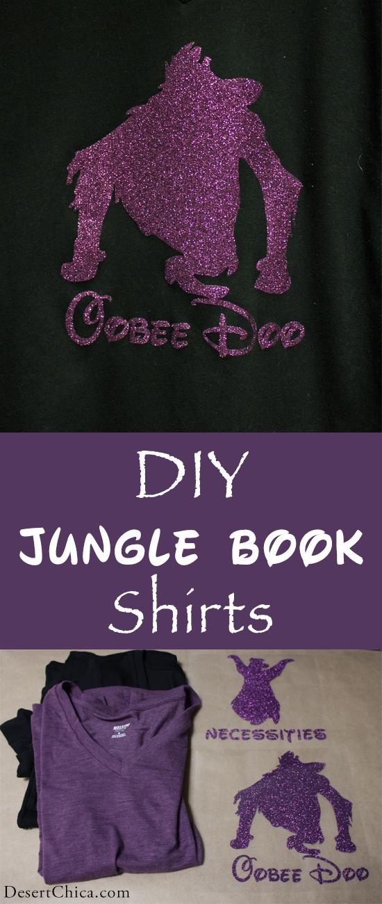 DIY Jungle Book Shirt