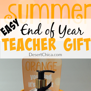 Easy End Of Year Teacher Gift