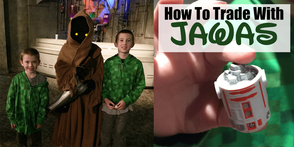 How to Trade with Jawas at Walt Disney World