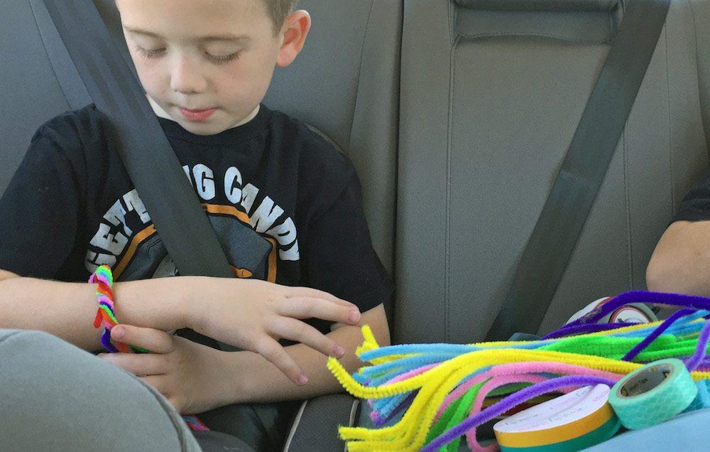 Low Tech Fun in the Car