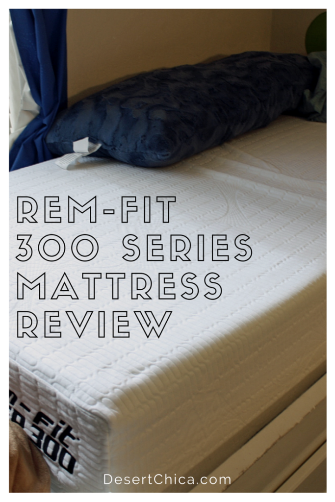 Rem Fit Sleep Mattress Review Remfit Desert Chica