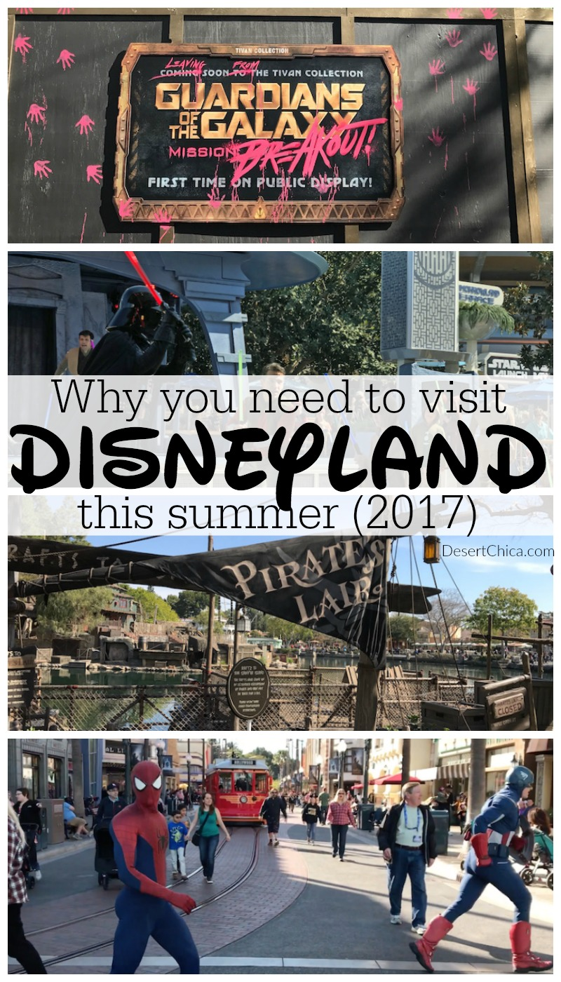 Who's planning a Disneyland Resort trip soon? There's always changes happening, check out these fun things to do at Disneyland this summer 2017.
