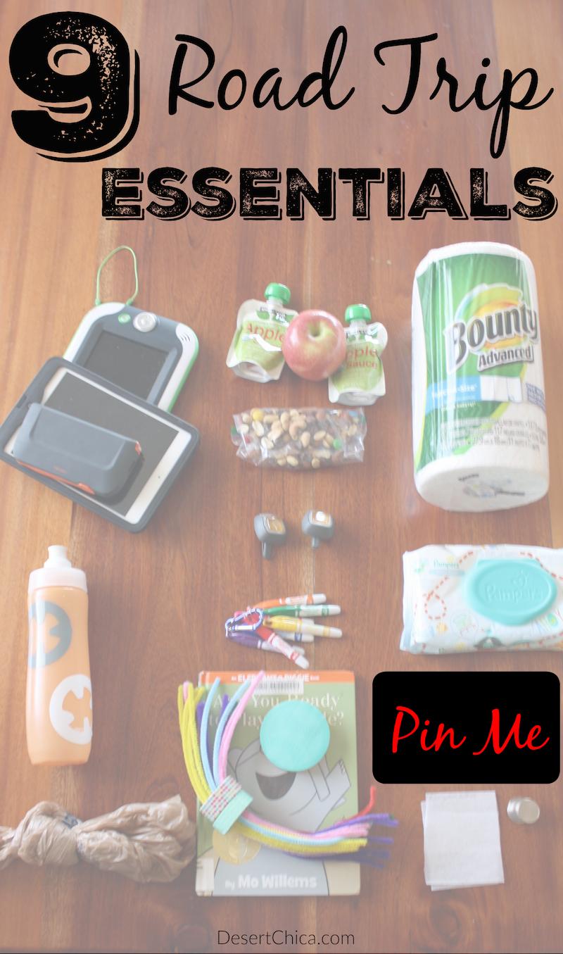 9 Road Trip Essentials Pin Me